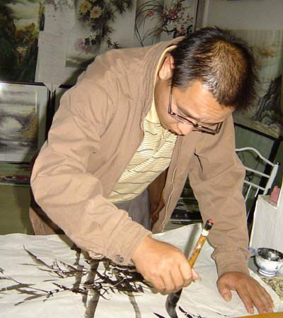 Chinese Artist, Li Tian-De