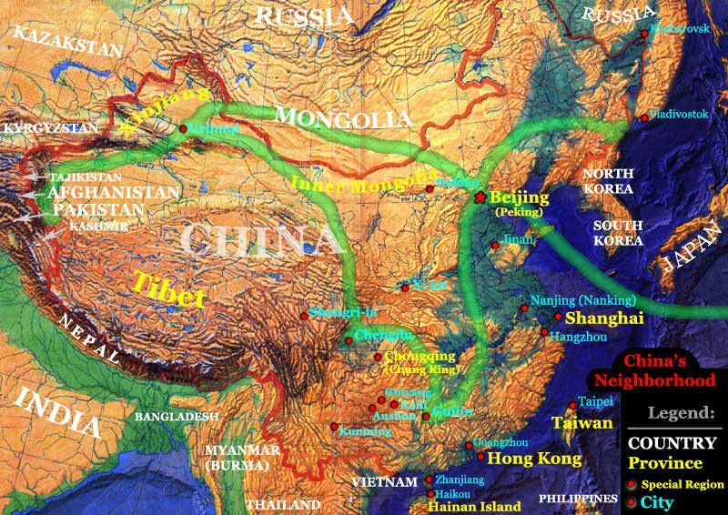 Planned trip across China on a quest to find new artwork