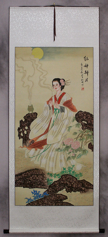 Diao Chan - Famous Beauty of China - Wall Scroll