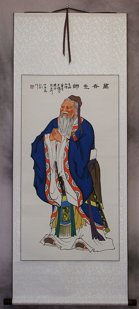 Great Sage Confucius Wall Scroll