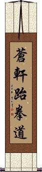 Ch'ang Hon Taekwondo Vertical Wall Scroll
