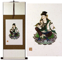 Guanyin Buddha Deity Print<br>Wall Scroll