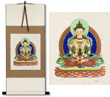 Buddha Deity Print<br>Wall Scroll