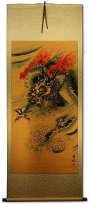 Flying Dragon Wall Scroll