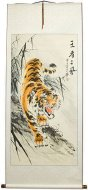 Huge Tiger Wall Scroll