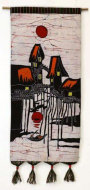 Suzhou - Venice of South China Batik Wall Hanging