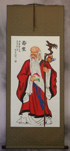 Longevity Star Wall Scroll