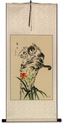 Cat Fun Wall Scroll
