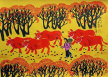 Autumn Fields<br>Southern Chinese Folk Art Painting