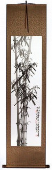 New Chinese Bamboo Wall Scroll