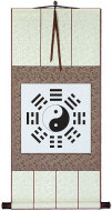 Ba Gua / Yin Yang Symbol - Chinese Scroll
