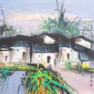 Suzhou in the Spring<br>Asian Venice Landscape Painting