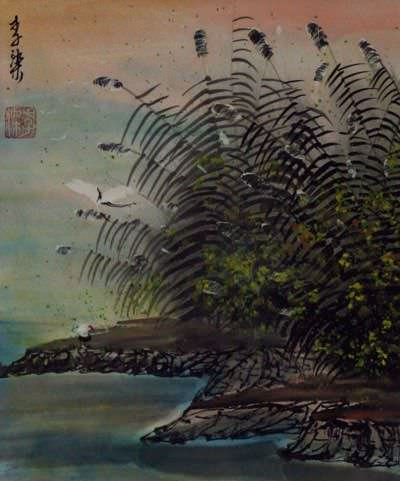River Bank - Chinese Landscape Painting