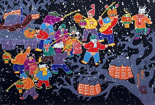 Lantern Festival Competition - Chinese Peasant Artwork