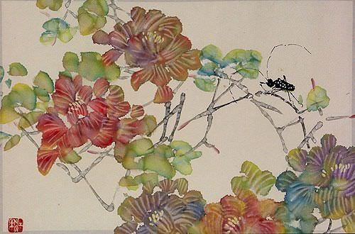 Jiang Feng's Abstract Asian Art