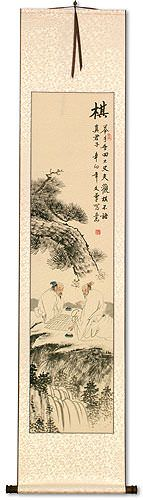 Chinese Weiqi Chess - Wall Scroll