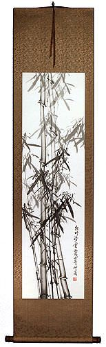 New Bamboo - Chinese Wall Scroll