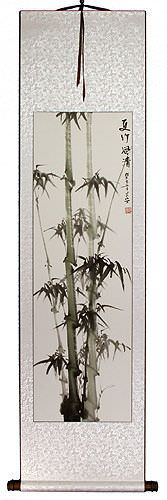 Summer Bamboo - Fresh Breeze - Wall Scroll