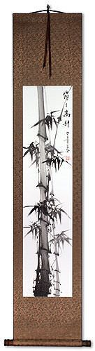 Step By Step - Bamboo Wall Scroll
