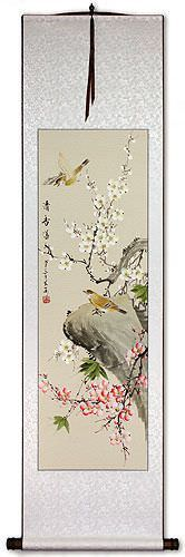 Overwhelming Fragrance - Wall Scroll