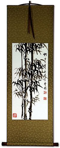 Bamboo Wall Scroll