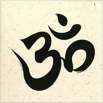 Om Symbol - Hindu / Buddhist Print