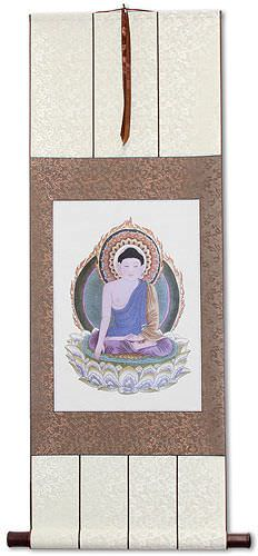 Buddha Print - Wall Scroll