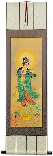 Buddhist Deity Print - Buddha Repro - Wall Scroll