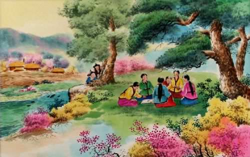 Checking the Woman in North Korean Painting