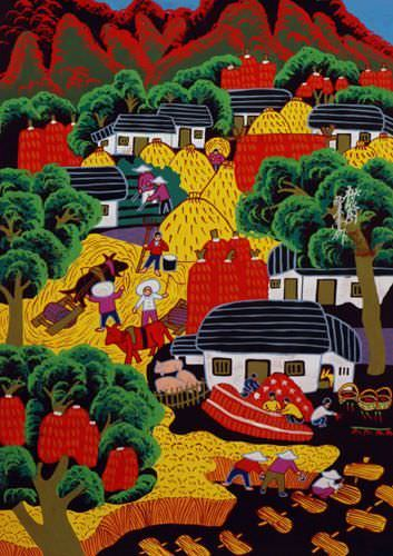 Autumn Harvest - China Peasant Art