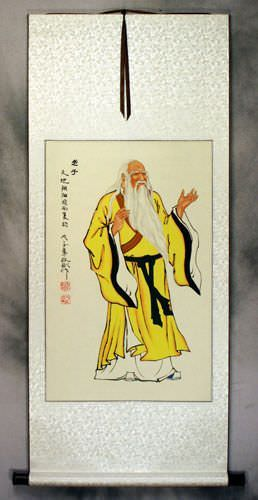 Lao Tzu Laozi Wall Scroll Asian Art Bargain Bin
