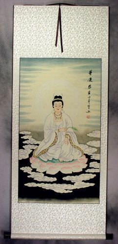 Guanyin / Kuan Yin / Kannon - Wall Scroll