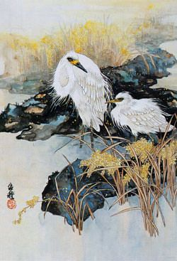 Chinese detail style painting