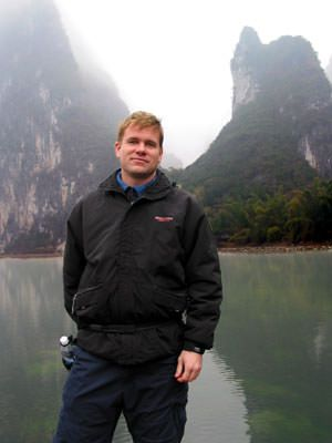 Hanging out in Guangxi Province near Guilin