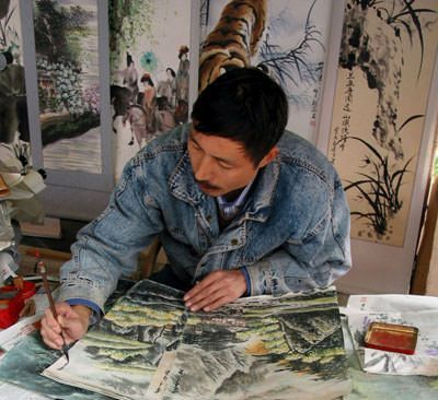 Chinese artist Huang Xin'an