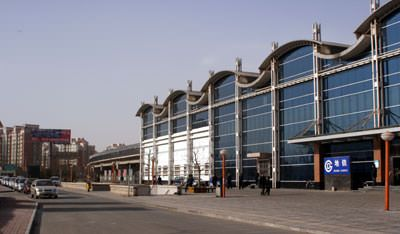 The Beijing Subway station near our workshop in Tong Zhou