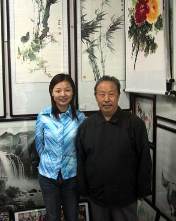 Chinese Bamboo Artist Shao Dan and Sandy