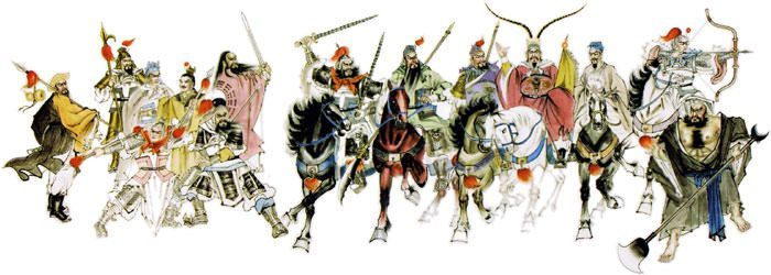 Picture of Ancient Warriors of China - Outlaws of the Marsh