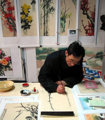 Chinese artist Yang Dewen