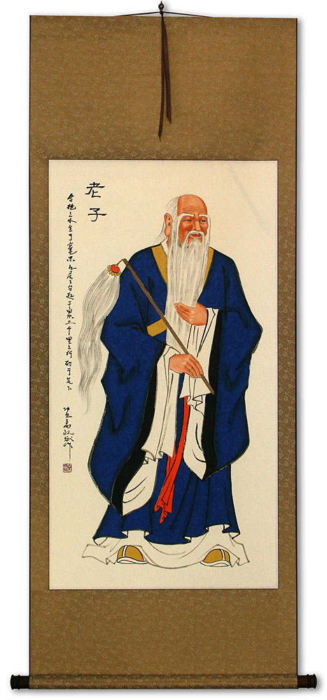 Confucius - Man of Wisdom - Wall Scroll