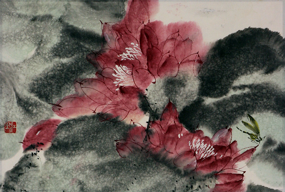 Chinese Flower Painting