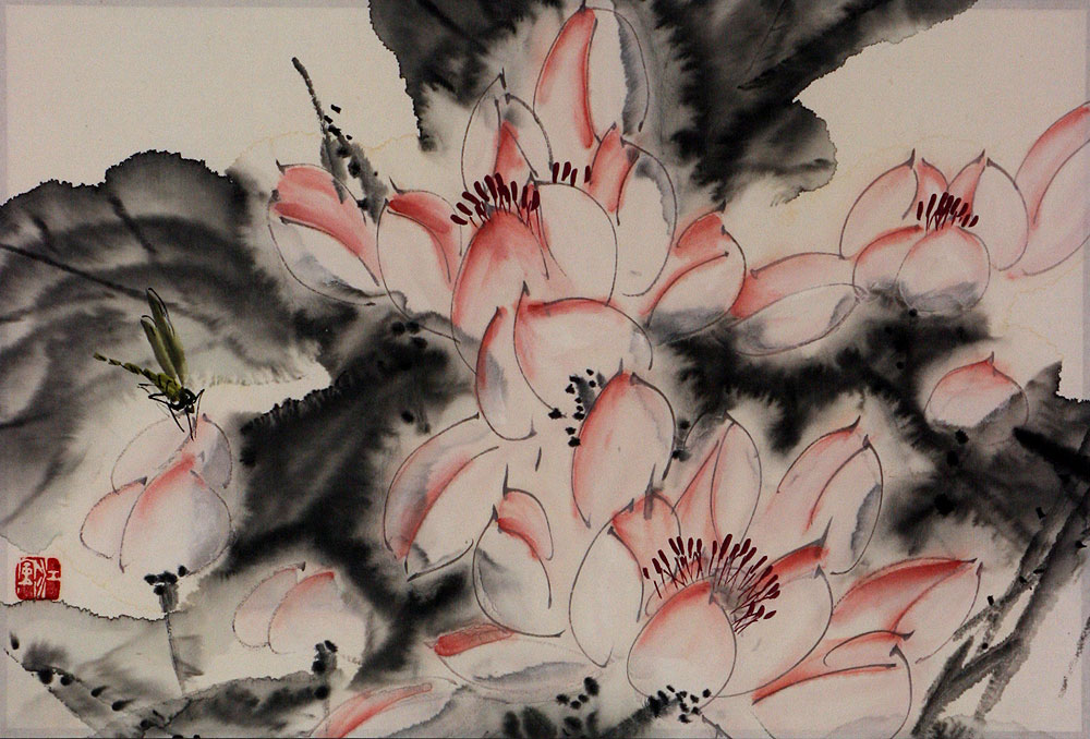 Abstract Chinese Painting
