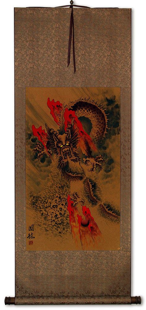 Big Dragon Wall Scroll