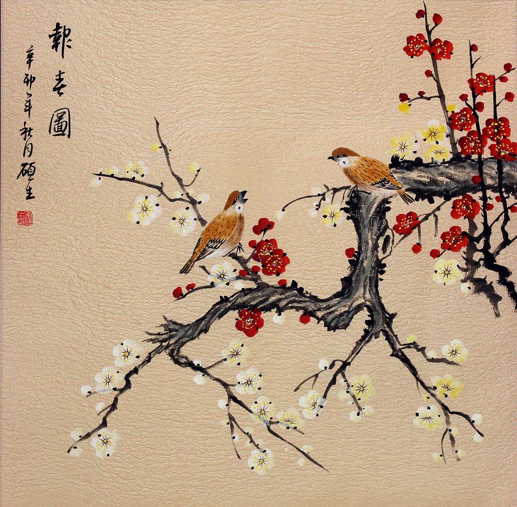 Китайские и японские открытки
