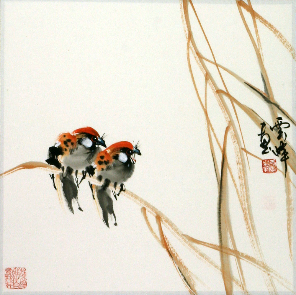 Chinese Bird and Flower Painting
