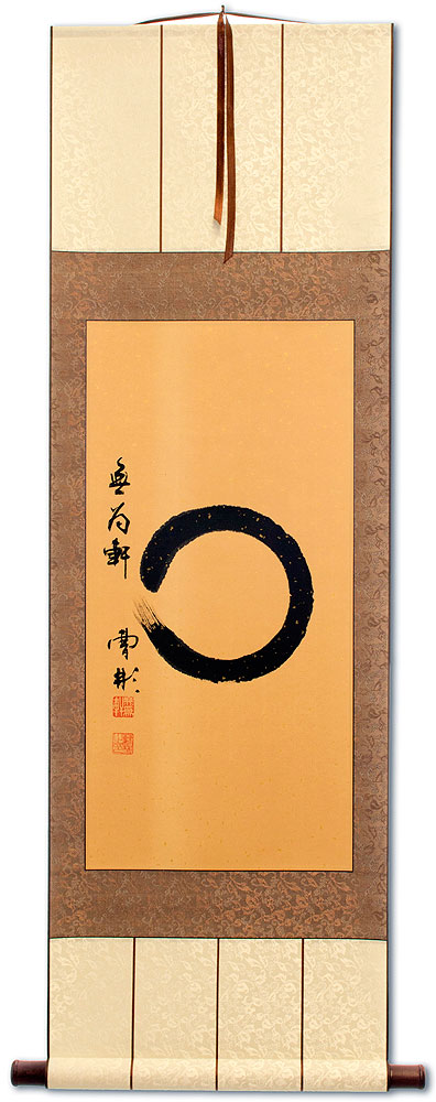 Enso Zen Circle - Wall Scroll
