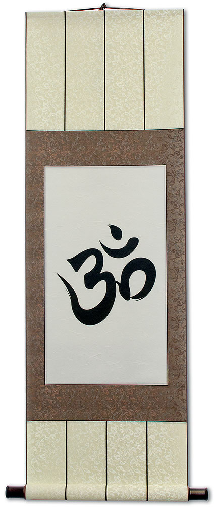 Om Symbol - Unryu Wall Scroll