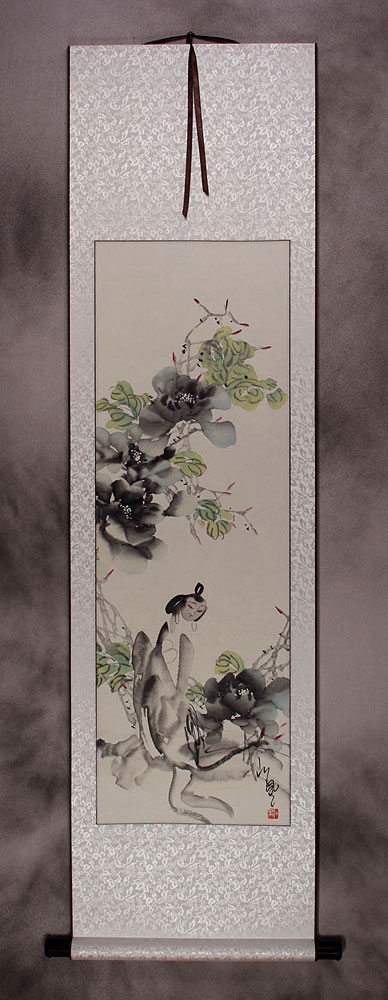 Jiang Feng's Abstract Asian Art Wall Scroll