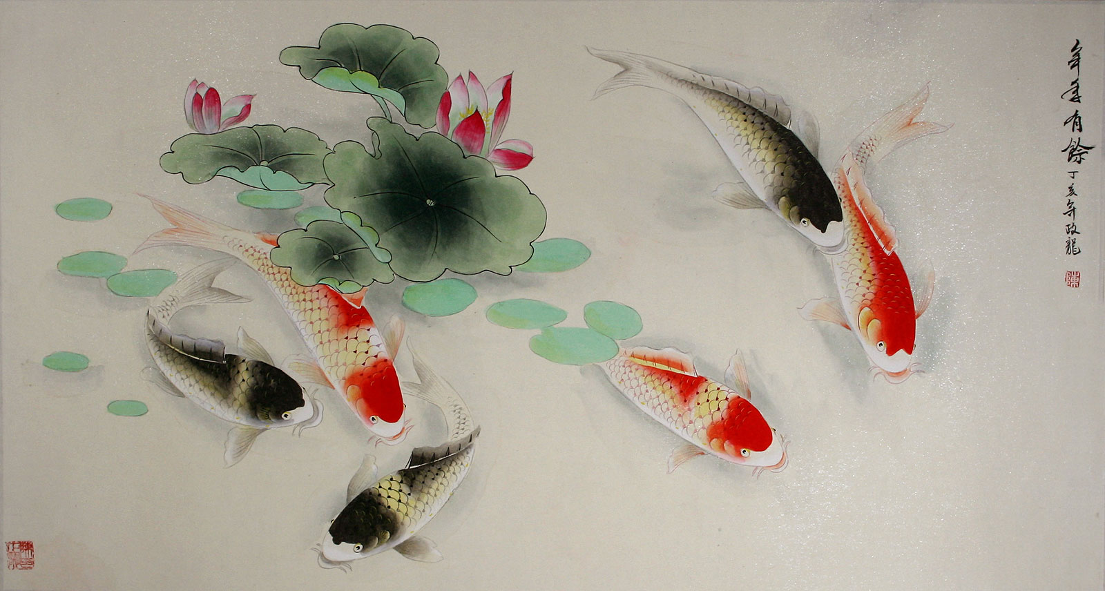 Opinion you asian koi paintings agree, excellent