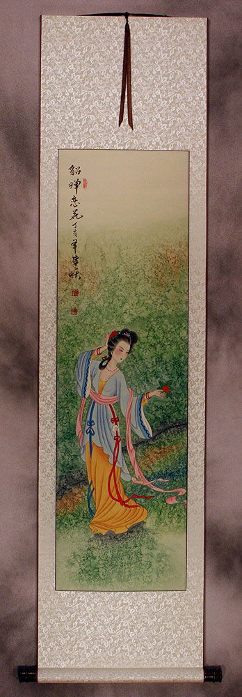 Diao Chan Famous Beauty Of China Wall Scroll Beautiful